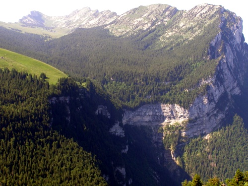 Photograph of The upland synclinal valley of l'Aup du Seuil