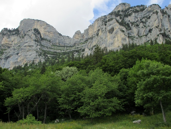 Photograph of the cirque of the Passage de l'Aup du Seuil