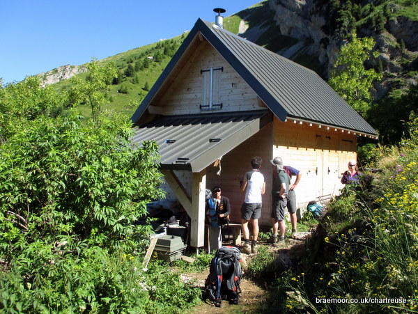 Photograph of the Cabane de Bellefont