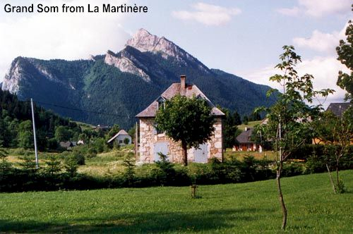 Grand Som from la Martinière
