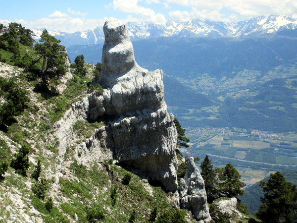 Pinnacle on Dent de Crolles