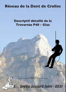 The cover of one of the Spéléo Secours Isère route guides